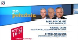 Poseł Andrzej Grzyb w Republika Po Południu w TV Republika 12.01.2021r.