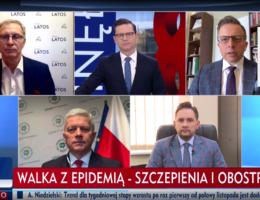 Poseł Andrzej Grzyb gościem programu Minęła 8 17.02.2021r.