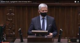 Wystąpienia w Sejmie 24.02.2021r.